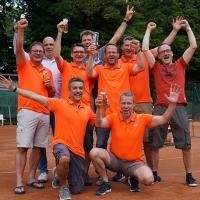 Herren 40/4 am Freitag, 21. Juli 2017: Aufstieg!!!!
