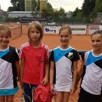2. Midcourt am 06.07.17: Lale, Emma, Marie und Jula.