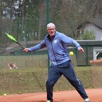 Cheftrainer Markus am 22. April bei unserer Offiziellen Saisoneröffnung/DST