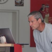 Turnierleiter Frank plant den Montag