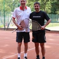 Klaus und Jörg am 21.08.2017 im Halbfinale.