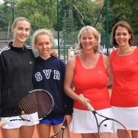 Jana und Nathalie gewannen die Trostrunde gegen Eta und Steffi