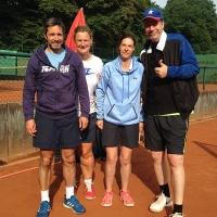 Jörg, Mareike, Alice und Mathias