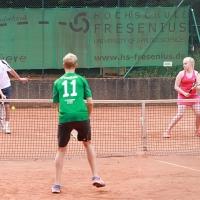 hinten: Udo und Annika