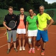 Luca, Jana, Heike und Ulf