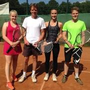Finale am Sonntag, 03.09.2017: Annika, Udo, Jana und Luca