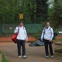 Udo und Andreas auf dem Weg zu Platz 6.
