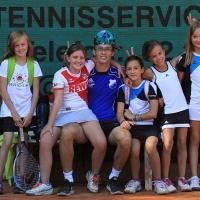 Tennisservice mit Trainer Tom