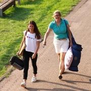 Anna-Lynn und Irene