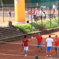 Großes Tennis auf dem Centercourt.