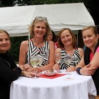Gaby, Birgitta, Liane und Astrid