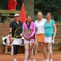 Lisa, Claudia, Nici und Maike