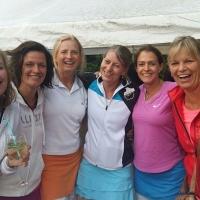 Tine, Susanne, Nici, Biggi, Steffi und Nicole