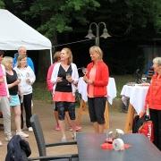 Tine und Nicole begrüßten die 29, kurze Zeit später 30 Teilnehmerinnen.