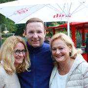 Silvia, Klaus und Birgit