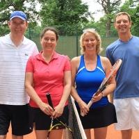 Auf Platz 7: Klaus, Claudia, Eta und Michael.