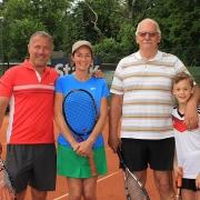 Peter, Silvia, Pieter und Johannes.