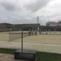 Baltrum im Juli 2017. Auch im Urlaub treibt unsere Jugend Sport.