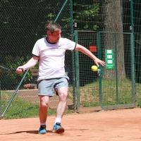 Andreas im Halbfinale