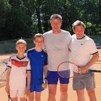 Johannes, Carl, Andreas und Andreas