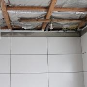 Die linke der drei Damen-Duschen.