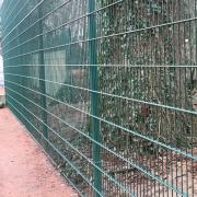 3. Februar 2018: Der neue Zaun an Platz 6