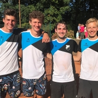 Jan, Nick, Matthias und Philipp