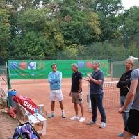 Fabio (2.) und Thomas (Sieger) bei der Siegerehrung