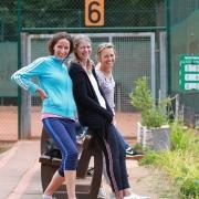 Silvia, Biggi und Katrin
