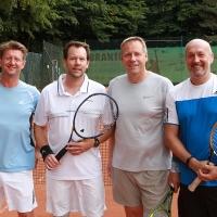 Michael, Michael, Jürgen und Michael am Montag, 9. Juli 2018