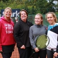 Damen Doppel Finale am 22.09.2018: Nicole und Andrea gegen Johanna und Nathalie