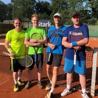 Jörg, Luca, Steffen und Alex am Dienstag, 26. Juni 2018