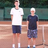 U15 Finale: Joshua und Luca