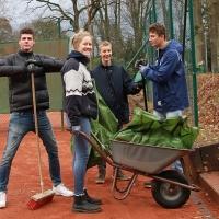 Jan, Hanne, Paul und Nick auf Platz 2