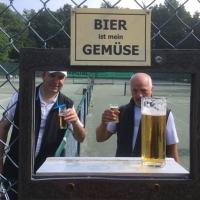Klaus und Thomas mit den Herren 50 in Uckerath