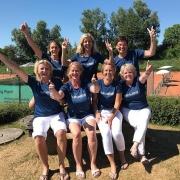 Aufstieg der Damen 40/2 am 8. Juli 2018