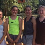 3. Juniorinnen am 7. Juli 2018
