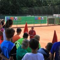 Die Turnierleitung teilten sich Richard (Foto), Christian, Steffi, Irene und Biggi.