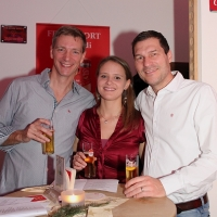 Michael, Kathrin und Christian