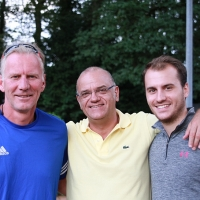 Markus, Claudio und Fabio