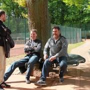 Leif, Udo und Erick