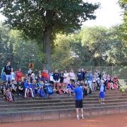 Am Freitag standen Spiele auf dem Programm. Eine anstrengende Campwoche ging zu Ende.