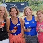 Nette Damen vom TV Dellbrück: Astrid, Heide, Andrea und Meike