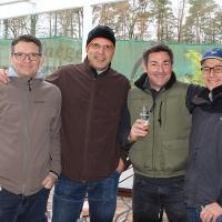 Jürg, Guido, Andreas und Ingo