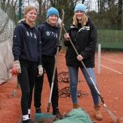 Nele, Ruth und Hanne auf Platz 5