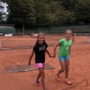 22.09.2019: Lotta und Lale nach dem U12-CM-Finale
