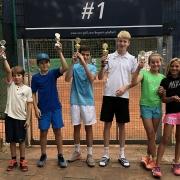 Jugend-Clubmeister und Finalisten am 22. September