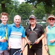 Conrad, Ralph, Birgit und Ingrid