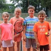 Von 16h bis 19h wurde gespielt. Klara, Anna-Lina, Paul und Oskar