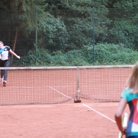 Paulina und Lotta im U15-Finale am Sonntag, 27. September
